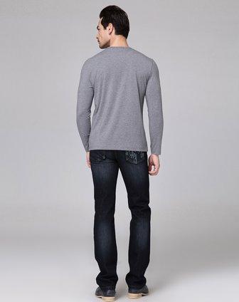 灰色长袖t恤衫c3t165l