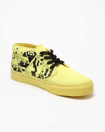 印花中帮帆布鞋