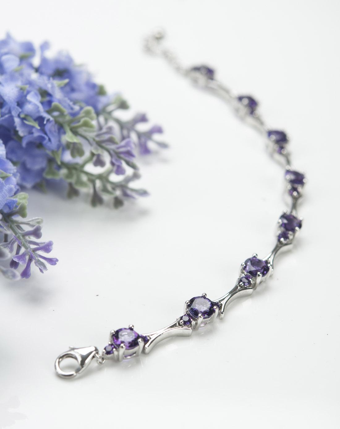 / 紫水晶手链