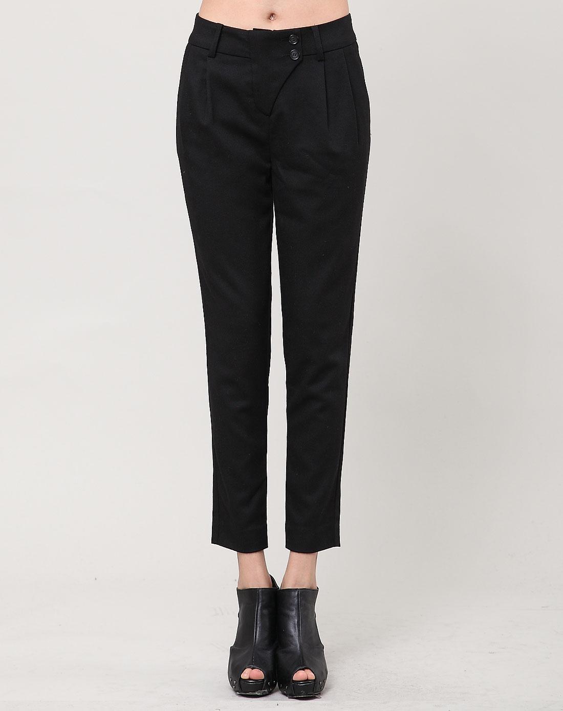女性日记lady's diary黑色裤子342460101