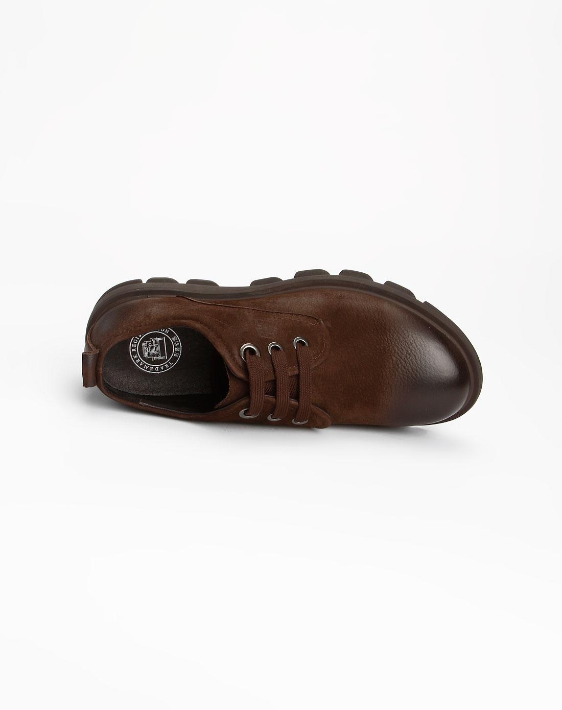 吉普动感男款棕色单鞋113508575005