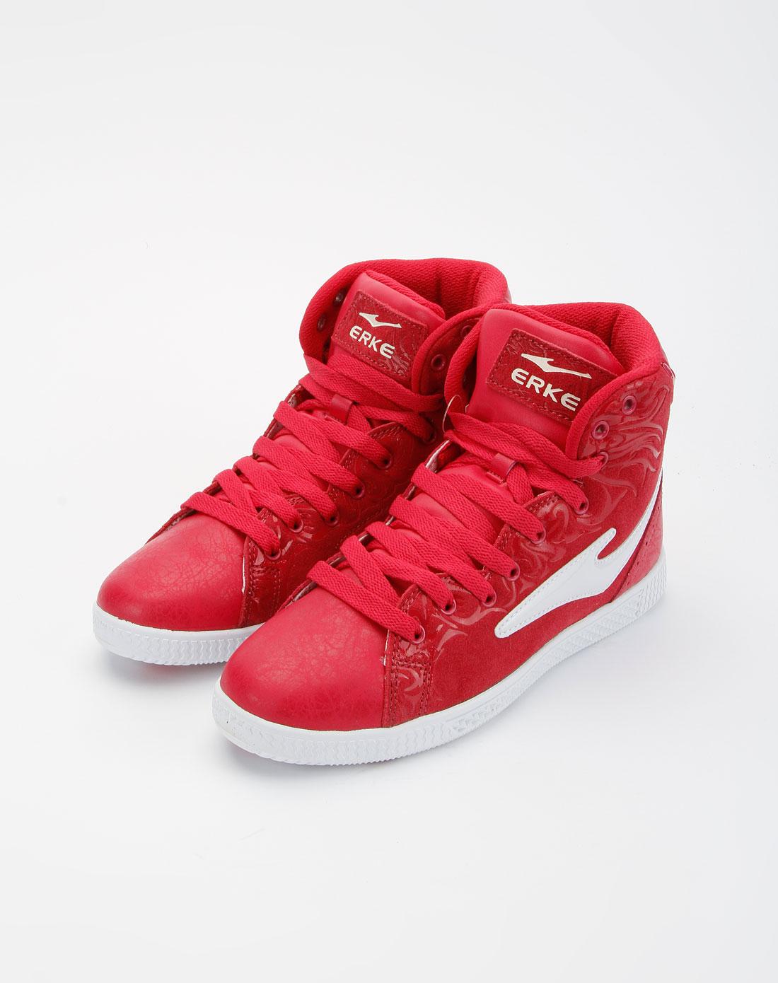 女款深玫红色鞋