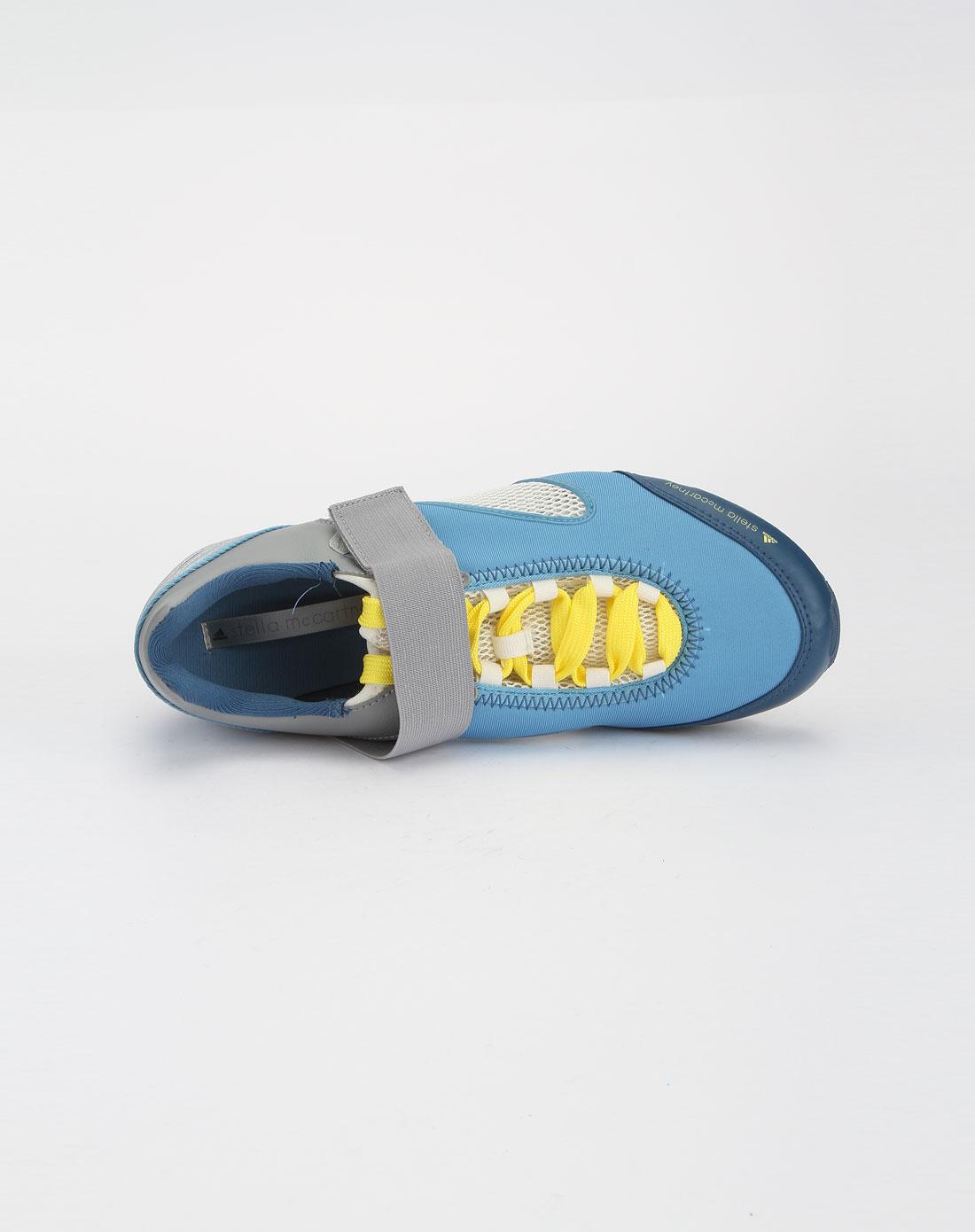 男女 阿迪达斯/阿迪达斯adidas男女鞋浅蓝色时尚运动休闲鞋G41768_唯品会