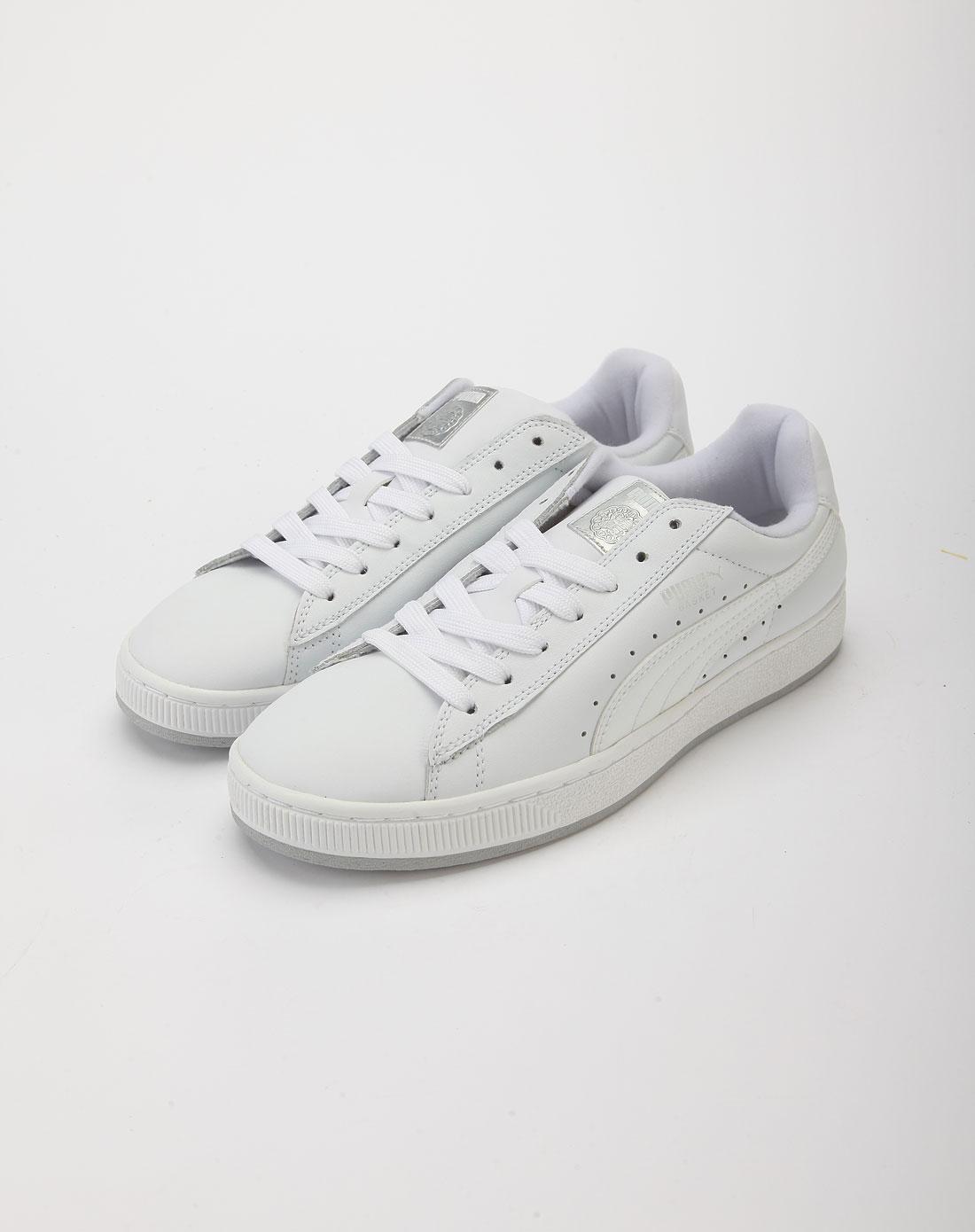 彪马puma男女鞋白色简约休闲鞋35193101