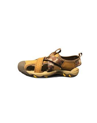 天伦天telent男女装男款卡其色户外凉鞋13171001