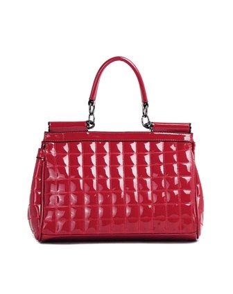 妮维奥neverout女士红色欧美时尚手提包n112703