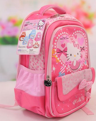 hello kitty&芭比barbie用品hellokitty儿童书包