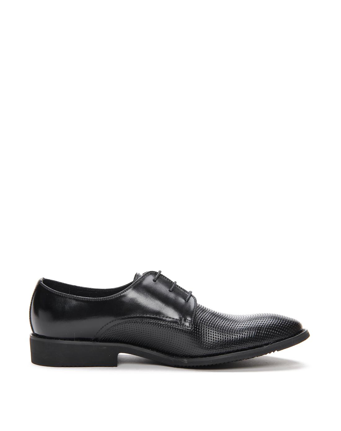 梦特娇montagut黑色正装男鞋a1212130401