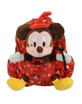 迪士尼disney儿童用品专场男童大红色米奇儿童卡通包